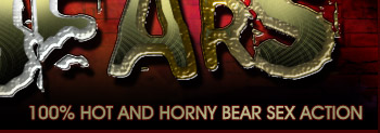 100% hot and horny bear sex action